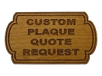 Custom Mini Plaque Quote Request