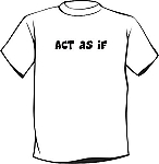 Recovery T-Shirt | Act As If