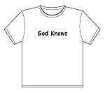 T-Shirt | God Knows