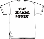 What Character Defects? Recovery Shirt