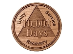 AA Recovery Days Medallion