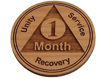 Recovery Medallion - 1 Month Chip