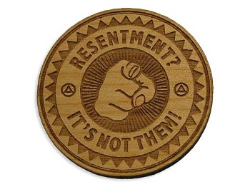 Wooden Resentment Chip