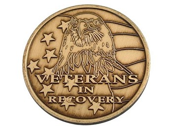 Veterans in Recovery Medallion
