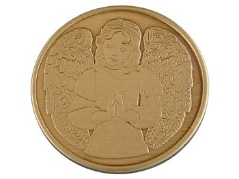 Praying Angel Medallion