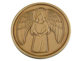 Guardian Angel Medallion