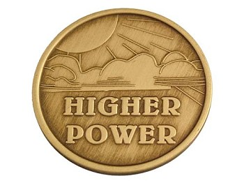 Higher Power Affirmation Medallion