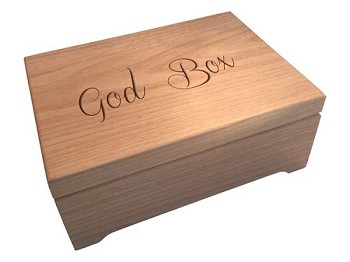 Large Wooden God Box