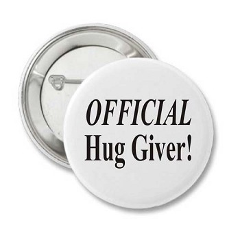 Official Hug Giver - Badge