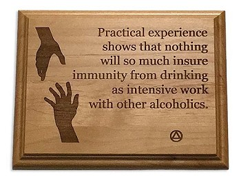 Practical Experience... AA Plaque