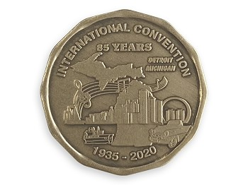 2020 International AA Convention Medallion
