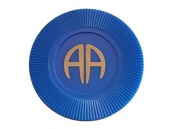 AA Anniversary Blue Chip