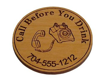 AA Medallion - Call Before You Drink