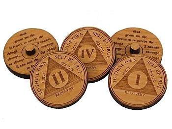 AA Anniversary Golf Ball Markers