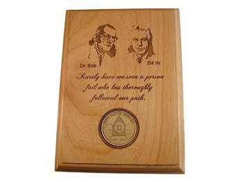 AA Founders Medallion Display Plaque