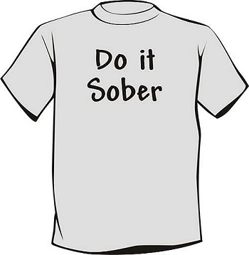Sobriety T-Shirt | Do It Sober