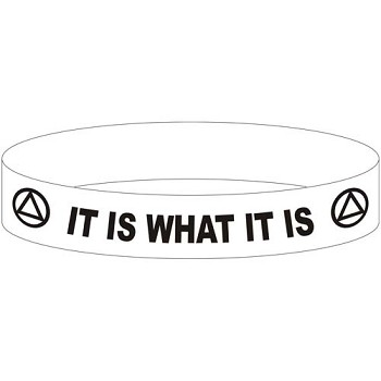 It Is What It Is AA Wristband
