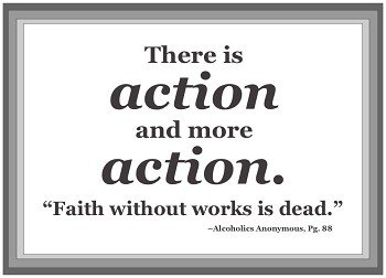 Faith Without Works is Dead Plaque