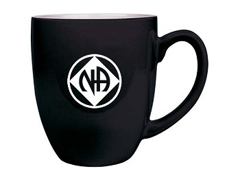Black NA Inspired Bistro Coffee Mug