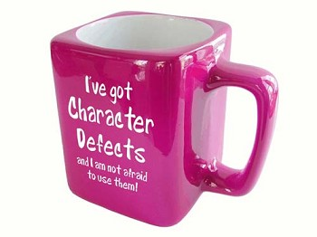 I've Got Character Defects Mug
