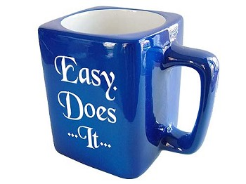 Easy Does It Coffee Mug