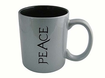 Recovery Coffee Cup - PEACE