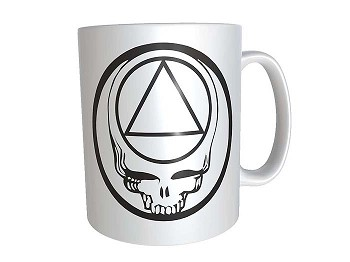 Personalized AA Steal Your Face Cup