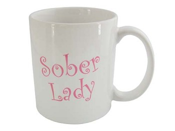 Sober Lady Coffee Cup