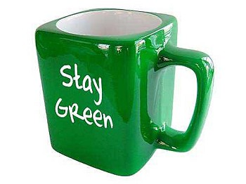 Stay Green - Recovery Coffee Cup