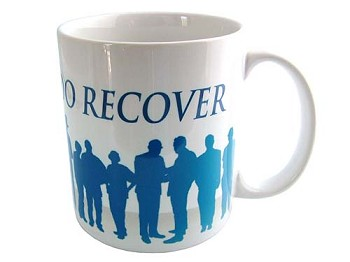 Together We Do Recover Coffee Cup