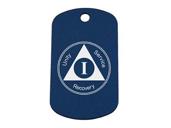 Personalized AA Birthday Dog Tag