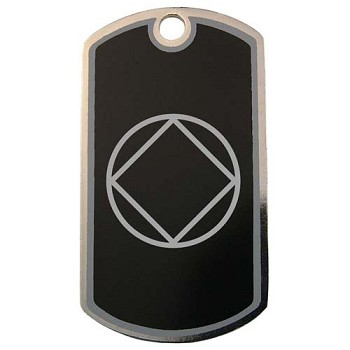 Personalized NA Symbol Dog Tag