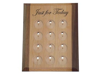 Just for Today Deluxe Medallion Holder/Display