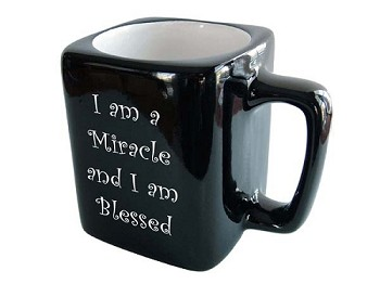I am a Miracle and I am Blessed Mug