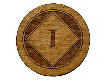 Wooden NA Anniversary Tokens