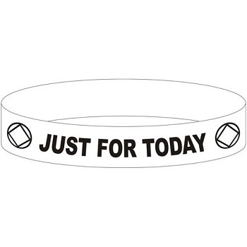 NA Just For Today Wristband
