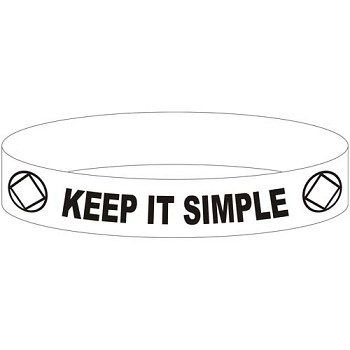 Keep It Simple - NA Wristband