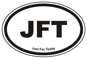 JFT Oval Sticker Decal