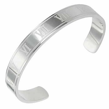 12 Step Stainless Steel Bangle