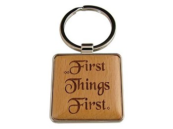 First Things First Key Fob