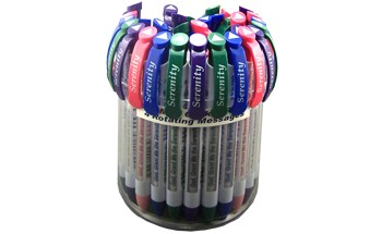 Assorted Serenity Prayer Pen Canister