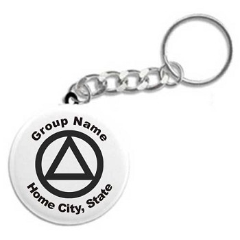 Personalized Group Keychain