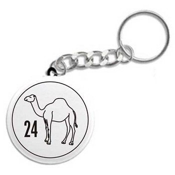 24 Hour Camel - Recovery Key Chain