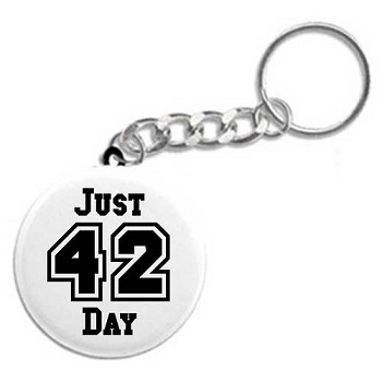 Just 42 Day - Recovery Key Tags