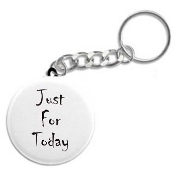 Just for Today Recovery Keychain