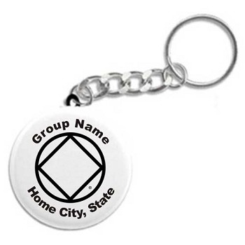 Personalized Group Key Tag