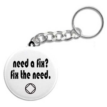 Need a fix? Fix the need. Recovery Key Tag