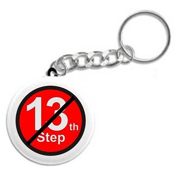 No 13th Step - Recovery Key Chain