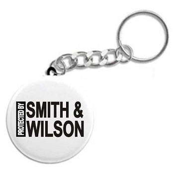 Protected By Smith & Wilson - Recovery Key Chain