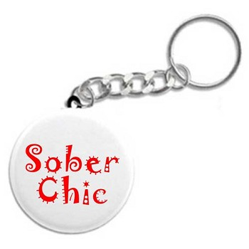 Sober Chic - Recovery Key Fob